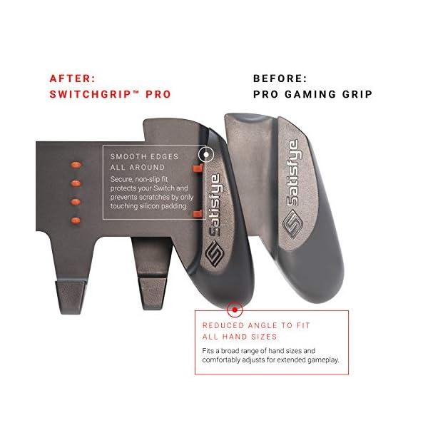 Satisfye - ZenGrip Pro, a Switch Grip Compatible with Nintendo Switch - Comfortable & Ergonomic Grip, Joy Con & Switch… 9