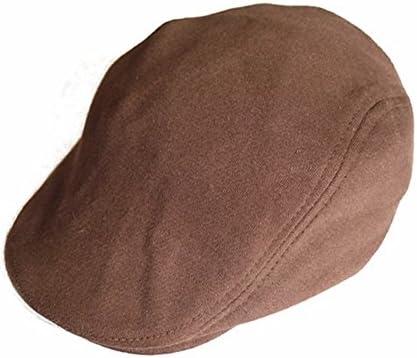 SKYHHM ハンチング 帽子 ベレー帽 調節可能 無地 メンズ レディース ニュアンスカラー アウトドア スウェット キャスケット 秋冬 防寒 シンプル & ベーシック スタイル フリーサイズ