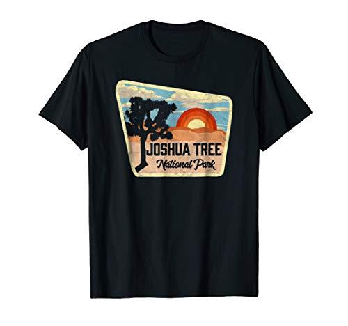 Joshua Tree National Park Retro Sign Design Shirt