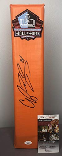 - Champ Bailey Signed Football - HOF Pylon w COA ~ Redskins - JSA Certified - NFL Autographed Miscellaneous Items