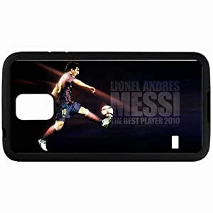 Personalized Samsung S5 Cell phone Case/Cover Skin Messi Lionel Messi Football Black