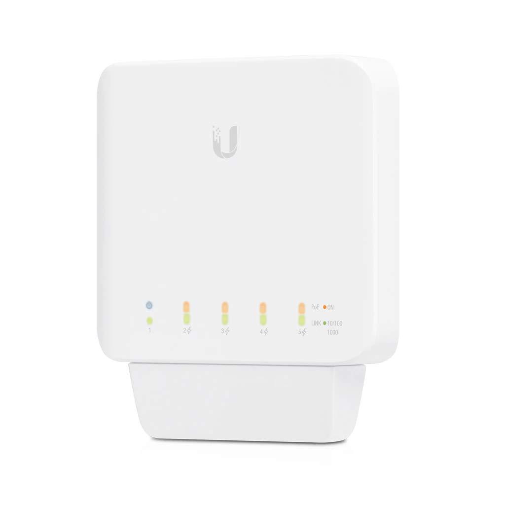 Ubiquiti Networks UniFi Switch Flex USW-Flex - Conmutador de 5 puertos Gigabit con soporte PoE