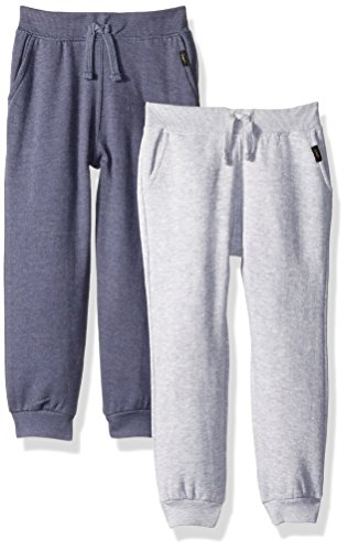 Lee Toddler Boys' 2Pack Fleece Jogger, Night Shadow, 2T