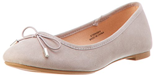 Grey Flats 4 Ballet Toe 3 Kaglet Look Grey Closed New WoMen Mid wca0vqgB