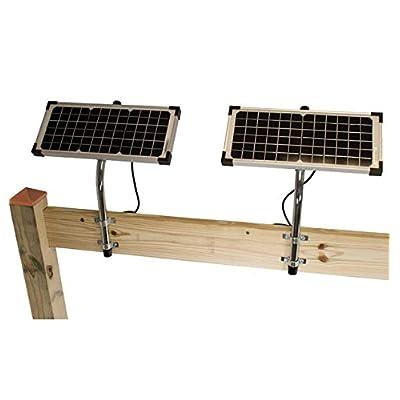 Ghost Controls AXDP Premium 10 Watt Monocrystalline Solar Panel for Automatic Gate Opener Systems : Garden & Outdoor