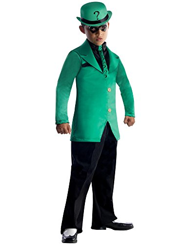 Riddler Girl Costumes (Batman: The Riddler Super Villain Kids)
