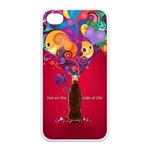 ICASE-MAX Best Iphone 4 4s Case Customized Creative Coke Design TPU Case for Iphone 4 4s (AT&T/Verizon/Sprint) Kimberly Kurzendoerfer