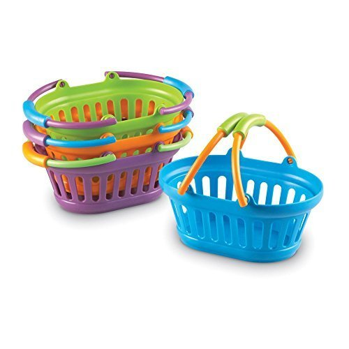 New Sprouts Stack of Baskets By Learning Resources -