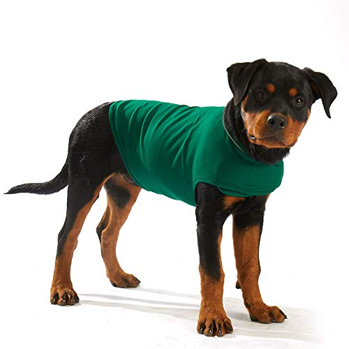 Furubaby Dog Outfits to be fit for Anxious Dog Coat and Dress up to Calm Dog with Jacket Vest for Small Medium Large Dogs Relieve Anxiety and Stress Relief (Dark Green) (M, Dark Green)