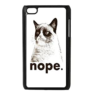Best Quality [LILYALEX PHONE CASE] Pet Cats FOR IPod Touch 4th CASE-5