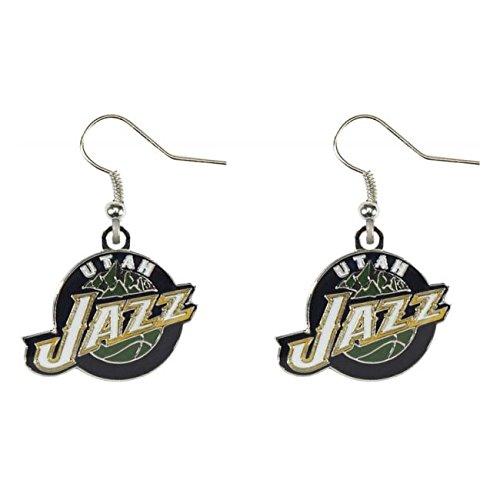 NBA Utah Jazz Logo Dangler Earrings