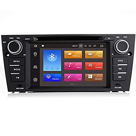 TOPNAV Android 8.0 Octa Core 2Din Head Unit Car DVD Play for BMW 3 Series E90