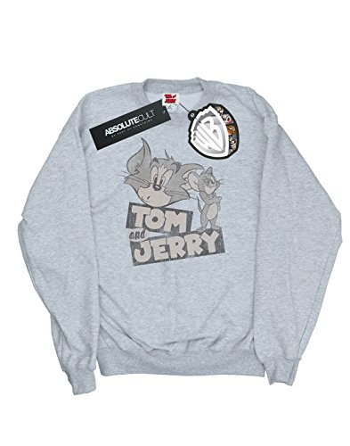 Cartoon shirt Cult Absolute Homme Sport Jerry Gris And Tom Sweat Wink 7dwqXw8