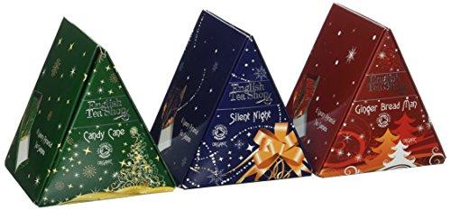 English Tea Shop Tringle Triple Pack Nylon Pyramid, 36 Gram by English Tea Shop