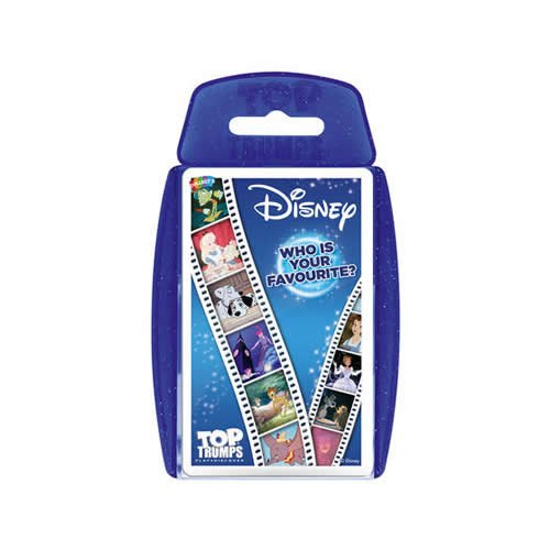 Official Top Trumps Children's & Adults Playing Card Game Pack - Disney Classics
