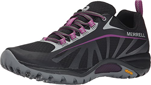 Merrell Women's J35750, Black/Purple, 8 M US (Running Merrell Waterproof Shoes)