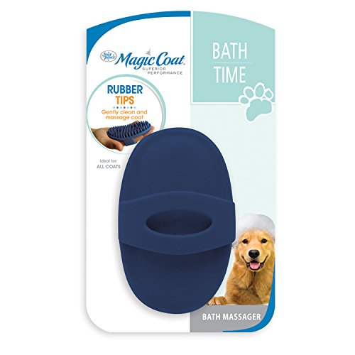 (Four Paws Magic Coat Love Glove Dog Bath Brush)
