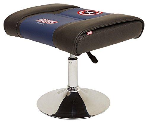 412aTZSStxL - Licensed-Marvel-Avengers-Superhero-Ergonomic-Swivel-Desk-Home-Office-Executive-Computer-Video-Gaming-Lumbar-Support-Ottoman-Stool-Neo-Chair