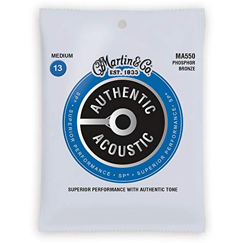Other MA550 Authentic SP Phosphor Bronze Medium Gauge Acoustic Guitar Strings (41Y18MA550)