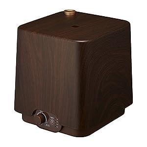 Doshisha PIERIA Upper Water Supply Type Ultrasonic Humidifier Square SWK-3031-DWD (Dark Wood)【Japan Domestic genuine products】