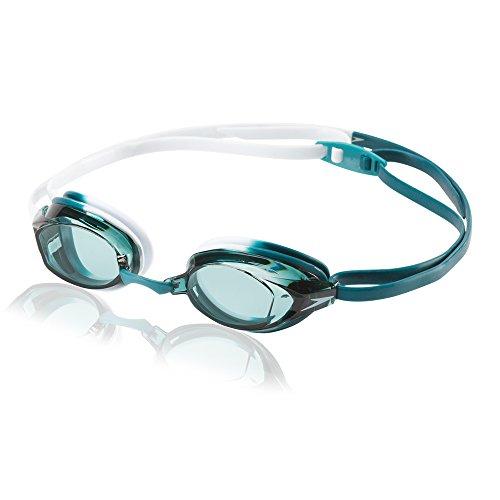 Speedo Vanquisher EV Swim Goggle, Blue Oceans, One Size