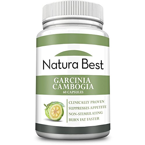 Naturabest Garcinia Cambogia Extract With HCA - Best Weight Loss and Appetite Suppressant Supplement, All Natural, 60 Capsules