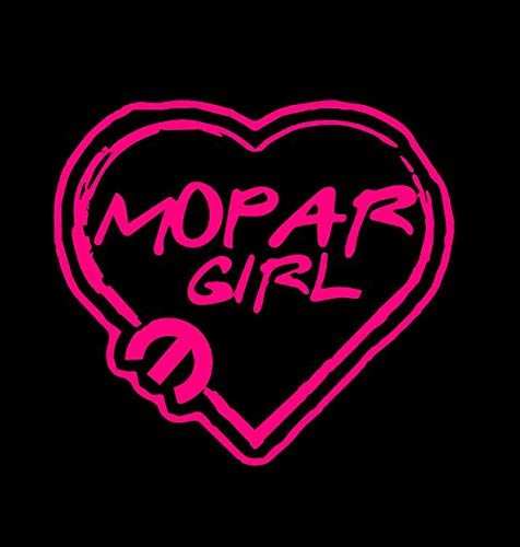 Mopar Girl car winow decal sticker MULTI-COLOR 4-12 for any Dodge Jeep Chrysler women car window