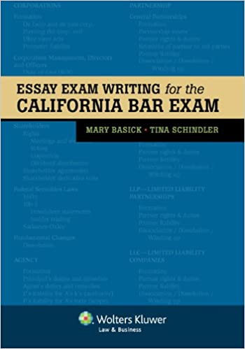 essay exam writing for the california bar exam bar review mary  essay exam writing for the california bar exam bar review mary basick tina schindler 9780735509931 com books