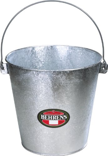 galvanized stable pail