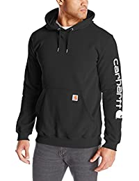 Men's Signature Sleeve Logo Midweight Hooded Sweatshirt K288