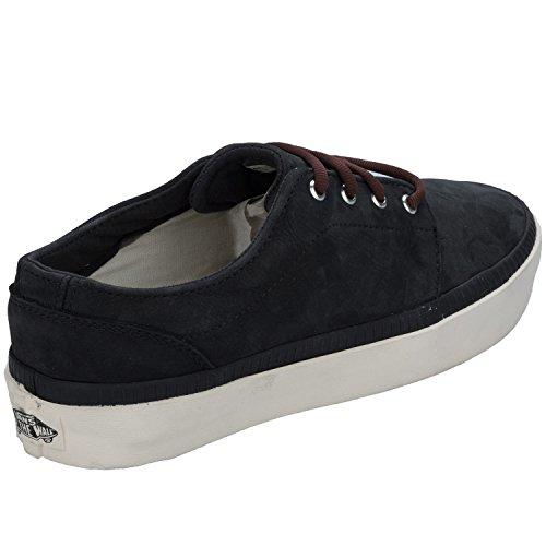 Vans - Zapatillas de Piel para hombre Negro negro