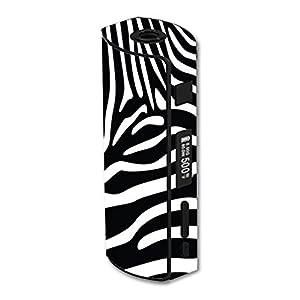 Eleaf iStick 60W TC Vape E-Cig Mod Box Vinyl DECAL STICKER Skin Wrap / Zebra Stripe Stripes Safari