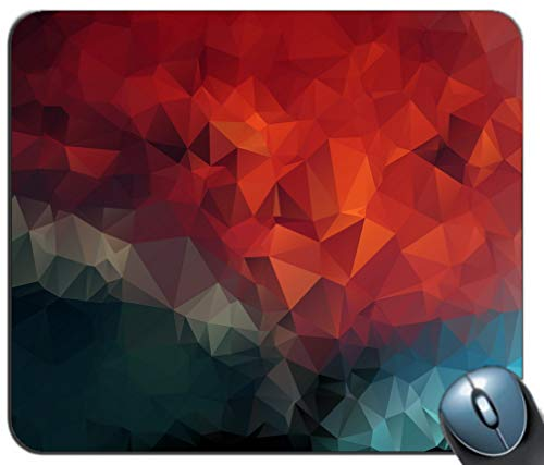 Comfortable Customized Computer Mouse YT30 Rubber Triangles Mousepad Slip Mosaic Pad Pattern Pad Mat Non and Printed Geometric Mouse Mouse wq7qRFPv