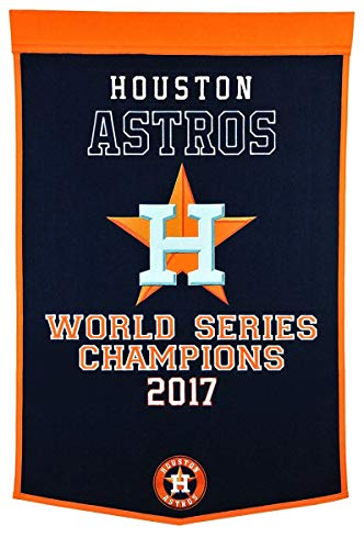 - Winning Streak MLB Houston Astros 76136Houston Astros Dynasty Banner, Multicolor, One Size