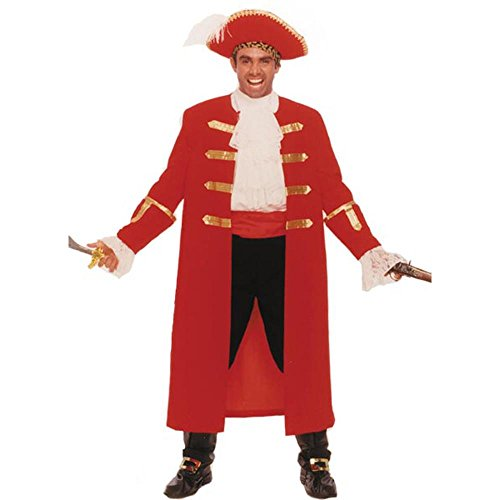 Adult Pirate Captain Morgan Costume (Size: Standard