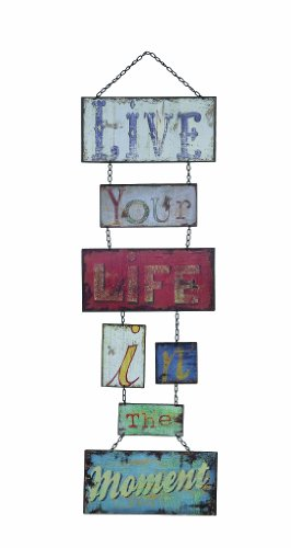 Creative Co-Op Live Your Life Metal Sign