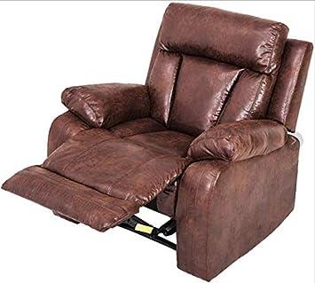 Amazon.com: Fulol Recliner Sofa Upholstered Leather Sofa Set ...