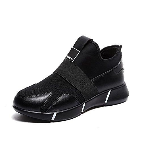 Scarpe Da Ginnastica Sportive Da Donna Cybling Per La Corsa A Piedi Comode Sneaker Da Allenamento Outdoor Nere