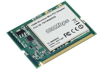 TP-LINK Tarjeta Red WiFi 108 Mbps Formato Mini PCI: Amazon ...