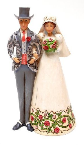 Jim Shore Bride And Groom Cake Topper -