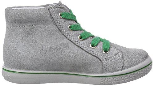 Ricosta Mario Unisex-Kinder Hohe Sneakers Grau (patina/gras 453)