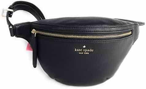 Kate Spade Jackson Belt Bag Pebble Leather Black Fanny Pack
