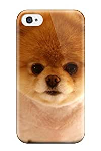 For Iphone Case, High Quality Cute Dog Boo For Iphone 4/4s Cover Cases