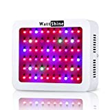 LED Grow Light 300W, Hydroponic System Led Plant Lights Greenhouse Garden Indoor Growing System with 8 Bands Full Spectrum for Flowers, Vegetables, Fruits