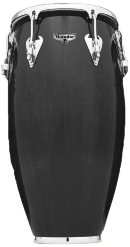 Latin Percussion LP Matador 11'' Wood Quinto - Dark Brown/Chrome by Latin Percussion