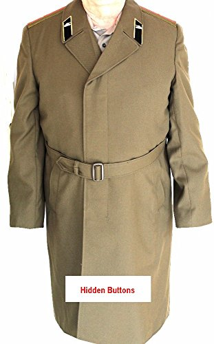 ORIGINAL Soviet USSR Major of Armor Summer Overcoat - Soviet Military Overcoat