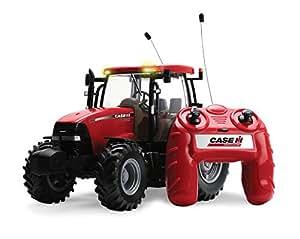 Racing Champions International - Tractor Case R/C Pilas Con Luces Y Sonidos 120-42600