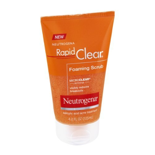 Neutrogena Rapid Clear Foaming Scrub 4.20 oz