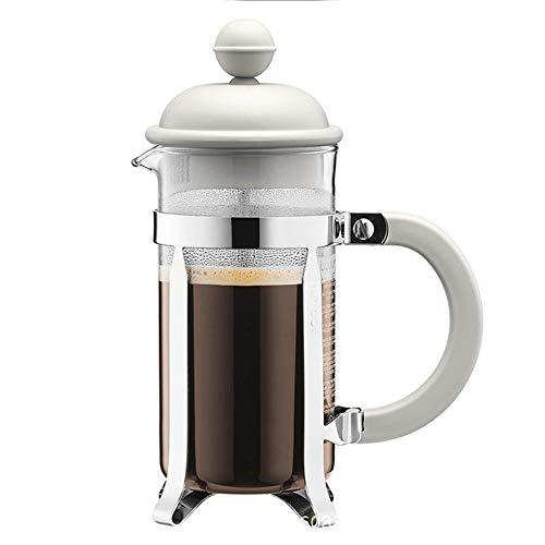 LIUXING-Home Cafetera Francesa Simples de la casa Prensa Pot hogar portátil Cafetera Mano Cafetera Filtro Copa Cafetera…