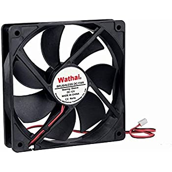 Wathai 120mm x 25mm 2Pin 12V Brushless DC Cooling Cooler Case Fan